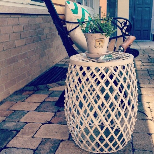 Remarkable Finally Found A Garden Stool At Tjmaxx And On Clearance Pabps2019 Chair Design Images Pabps2019Com
