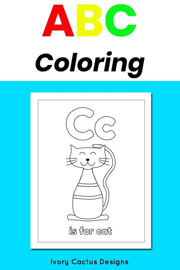 Alphabet coloring pages for kids Abc coloring pages, Abc