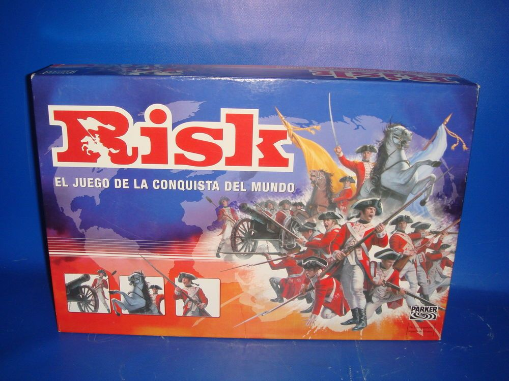 Juego De Mesa Risk De Parker Edicion Descatalogada Sin Uso Real