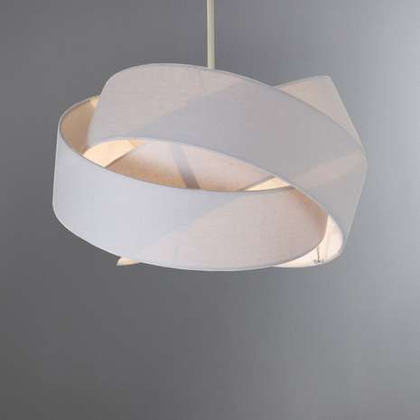 Elements Harley 34cm Twisted Shade Ceiling Light Shades Ceiling Lights Bedroom Ceiling Light