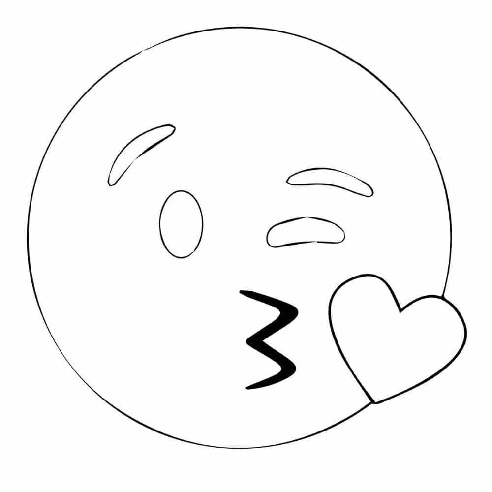 Dibujos Para Colorear De Emojis Emojis Emojis Dibujos Plantillas De Emojis