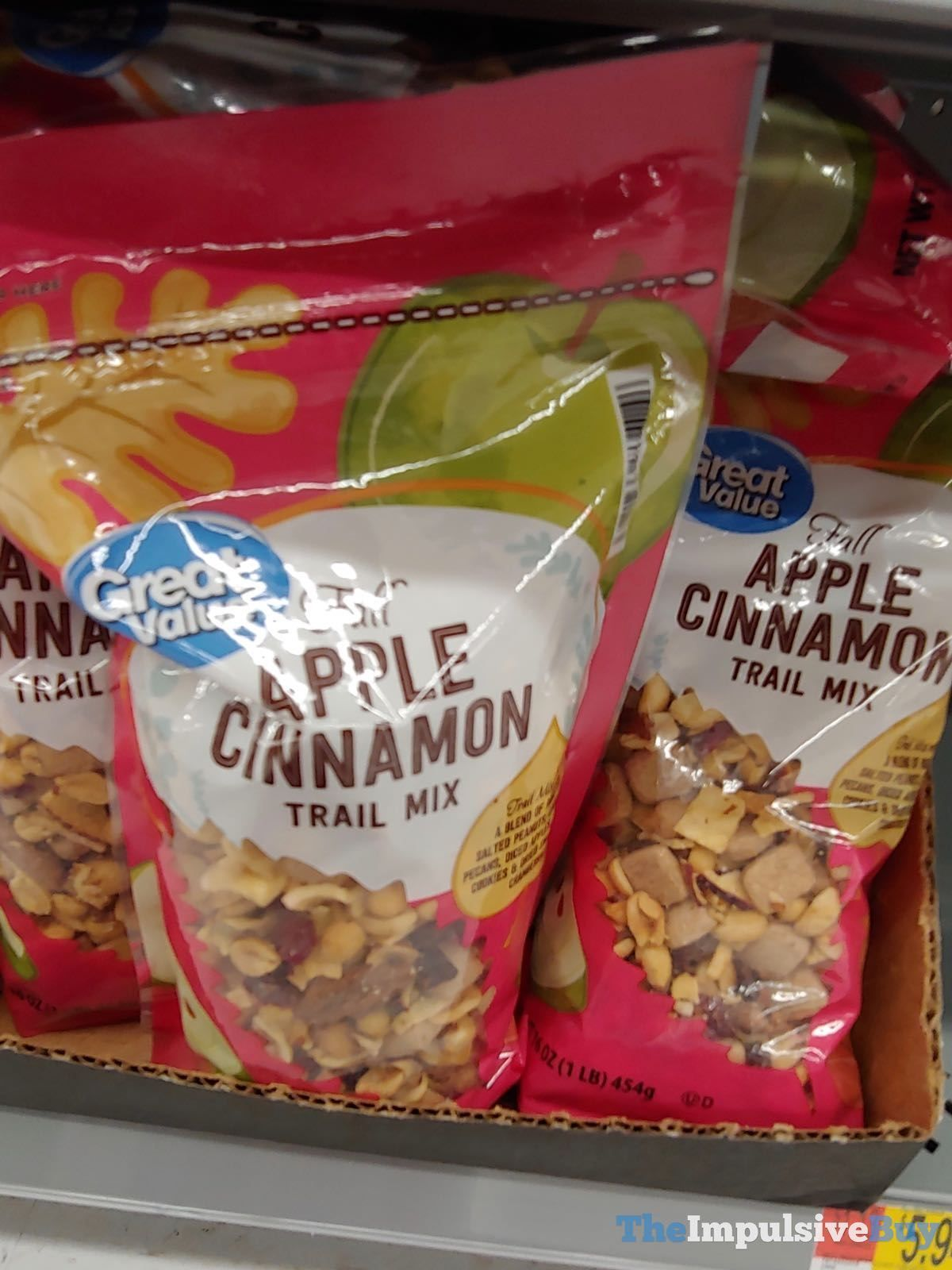 Great Value Fall Apple Cinnamon Trail Mix.jpg Food, Fast