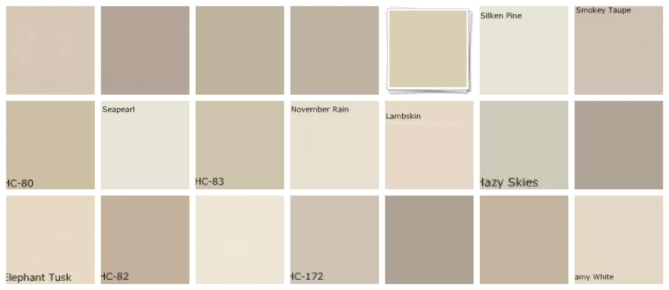 Benjamin Moore Neutral Paint Colors Warm Neutrals