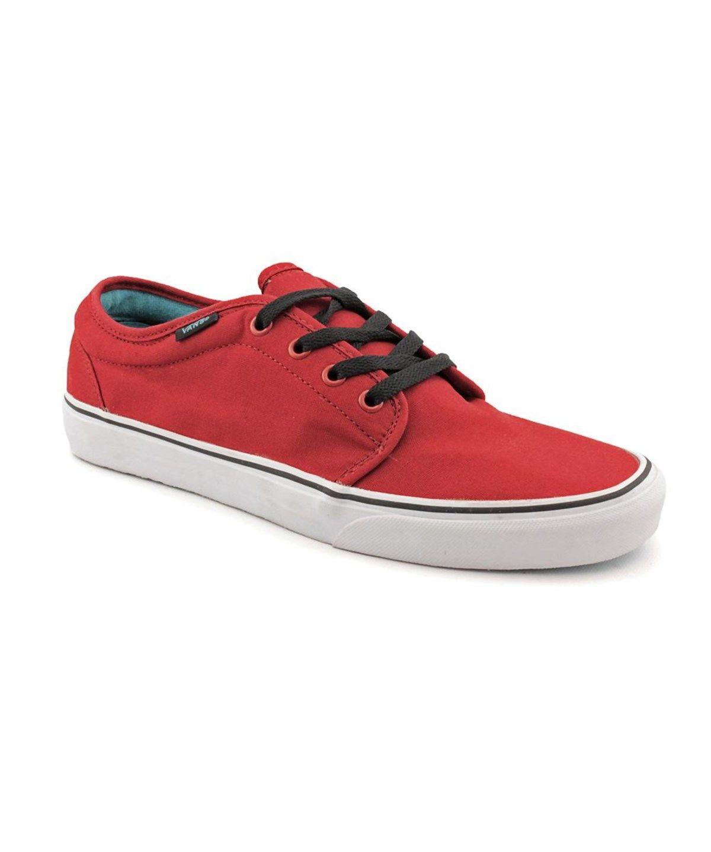 61055d0f2a VANS Vans 106 Vulcanized Round Toe Canvas Fashion Sneakers .  vans  shoes   . Shoes MenRed ...