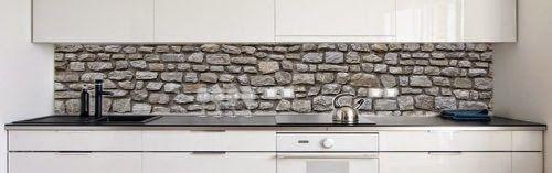 landhaus blog k chenr ckwand folie als spritzschutz f r die lan wohnideen pinterest. Black Bedroom Furniture Sets. Home Design Ideas