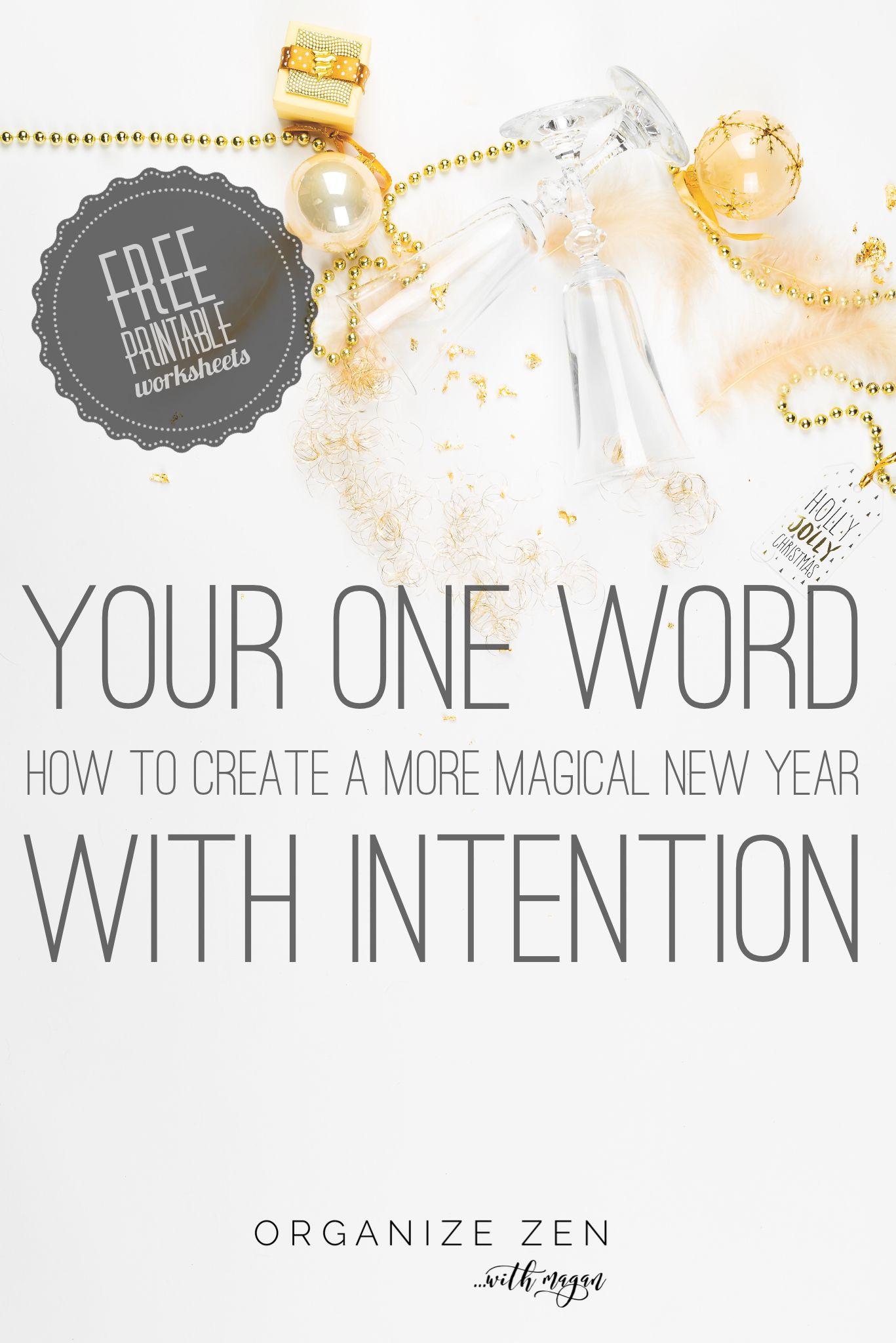 It S A New Year So It S Time To Set Your Word Of