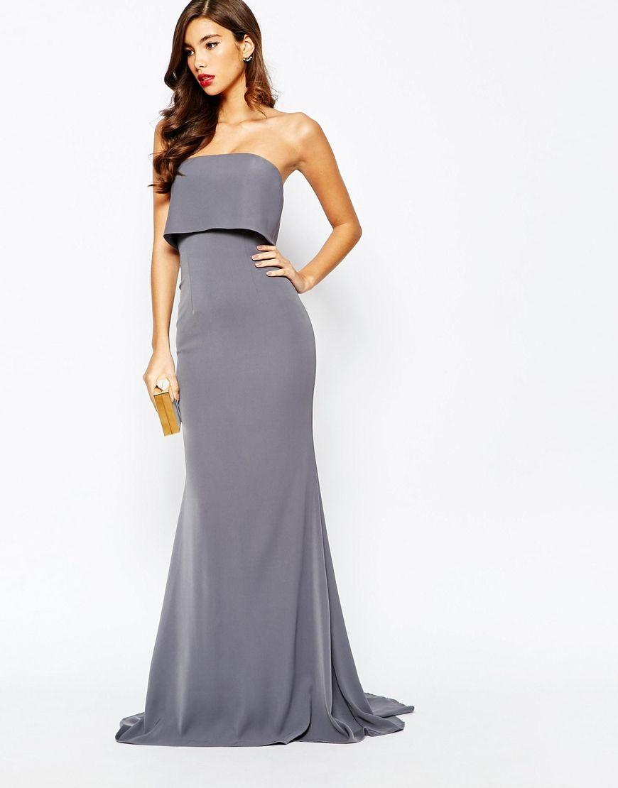 Dresses Generous Ladies Floral Strapless Maxi Fancy Dress Sheering Boob Tube Bandeau Plus Size