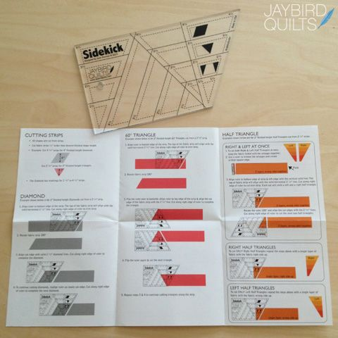 Introducing The Sidekick Quilting Rulers English Paper Piecing