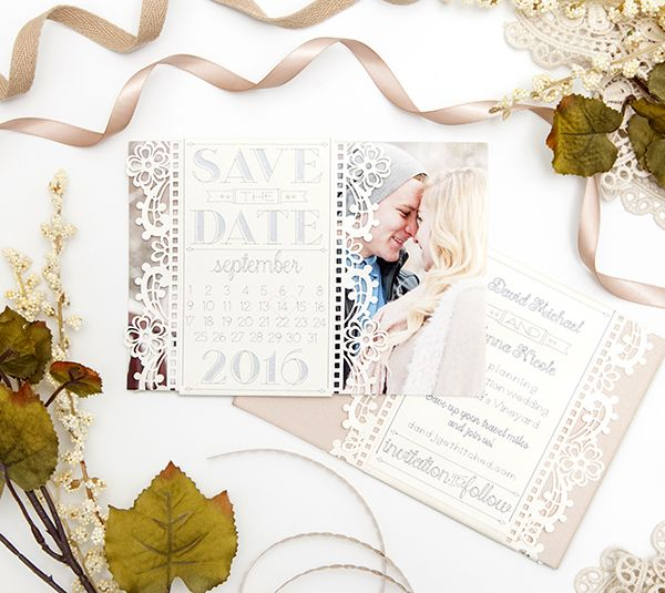 Your Debut As Two Save The Date Cards With Images Cricut