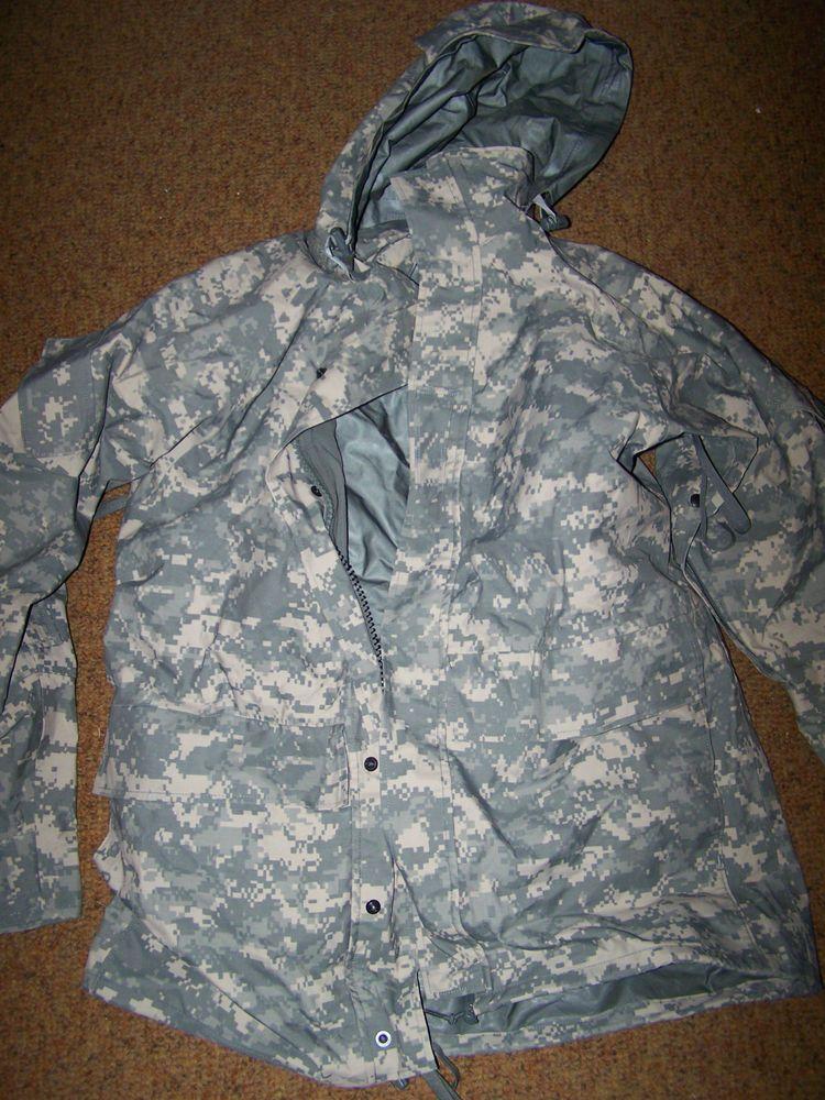 MEDIUM LONG Army Issue Digital Camo ACU Field Jacket
