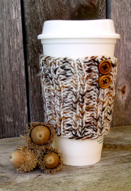 fall warm travel mug koozie