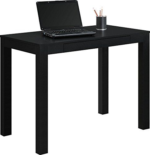 Altra Parsons Desk With Drawer Black More Info Could Be Found