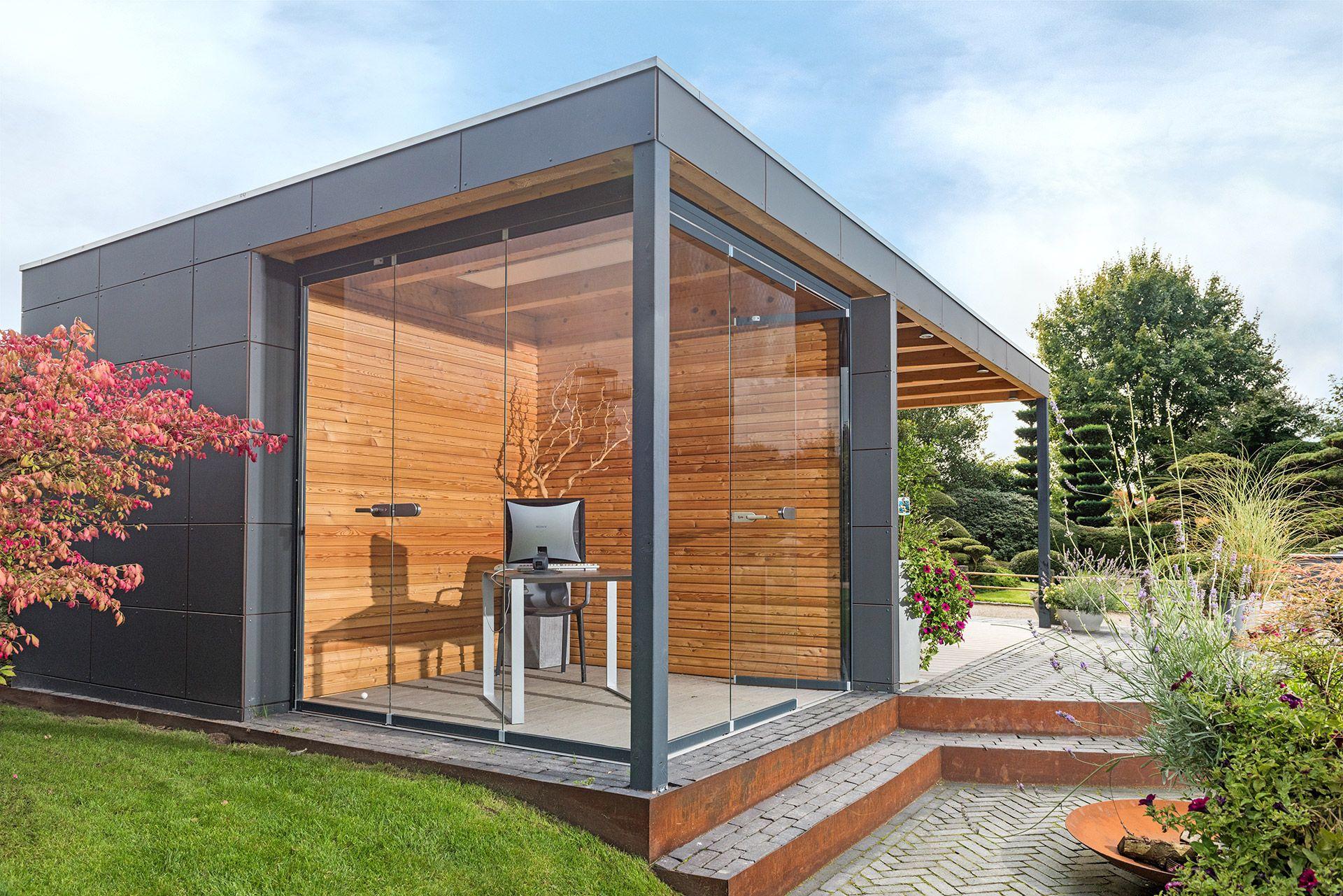 Puuro ist ein Garten und Gerätehaus aus hochfesten HPL