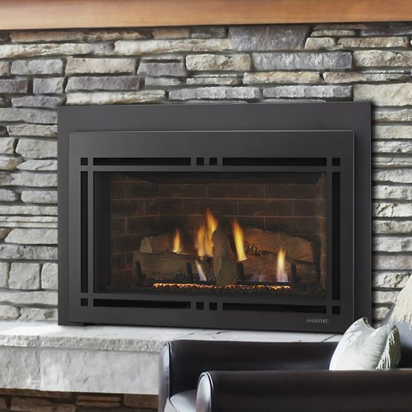 Majestic Ruby Direct Vent Gas Fireplace Insert 30