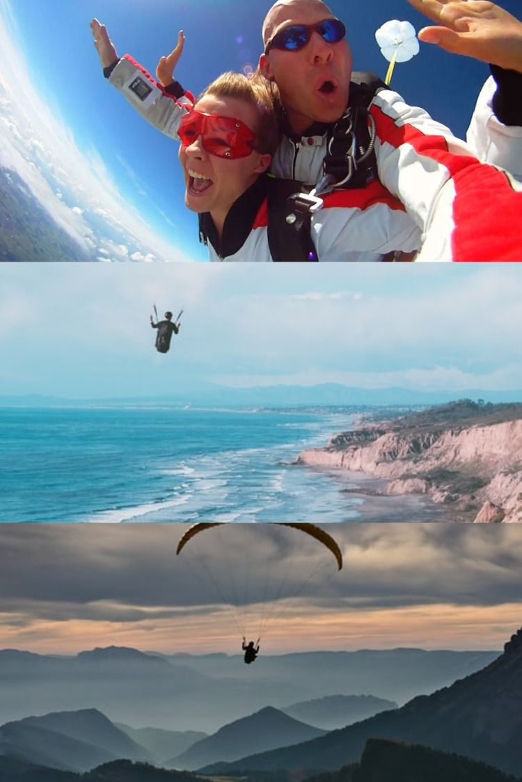 Let The Parachute Go Up And Take You To The Heights In The Heights Skydiving Parachute