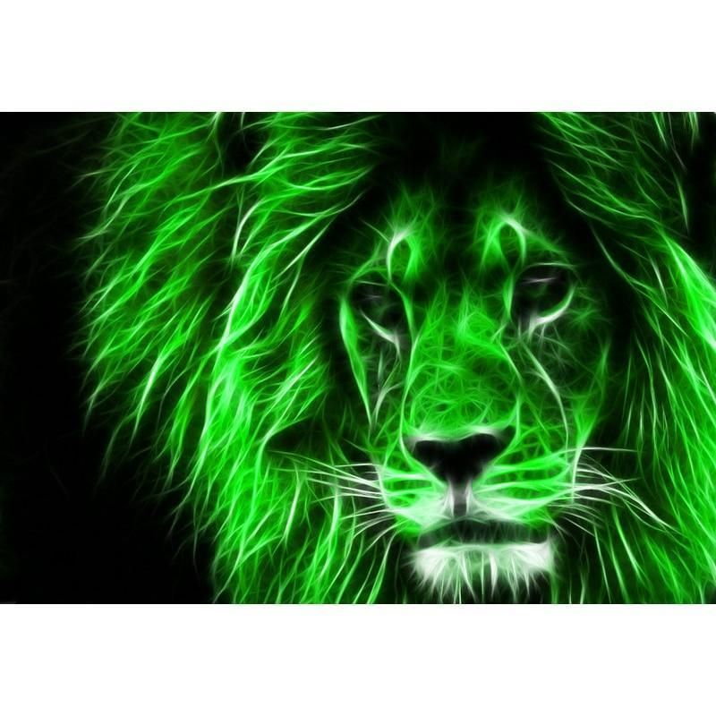 Green Lion Wallpaper Backgrounds Whatsapp Dp Painting Kits