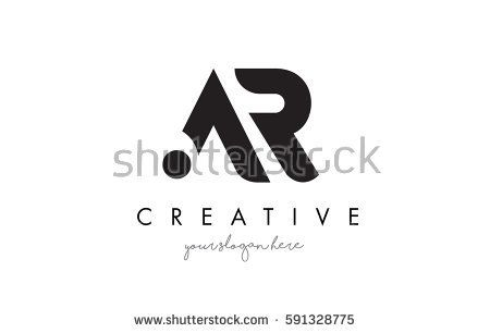 AR Letter Logo Design with Creative Modern Trendy