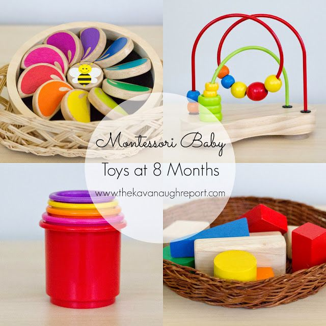 The Kavanaugh Report: Montessori Baby -- Baby Toys 6 to 10 ...