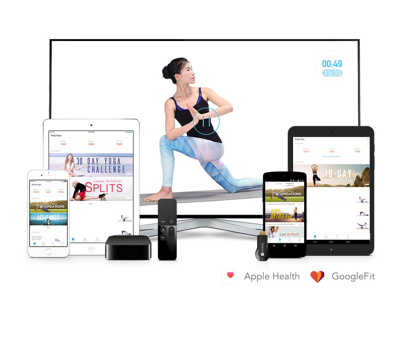 Have You Tried The Daily Yoga App Yet? Use it today and