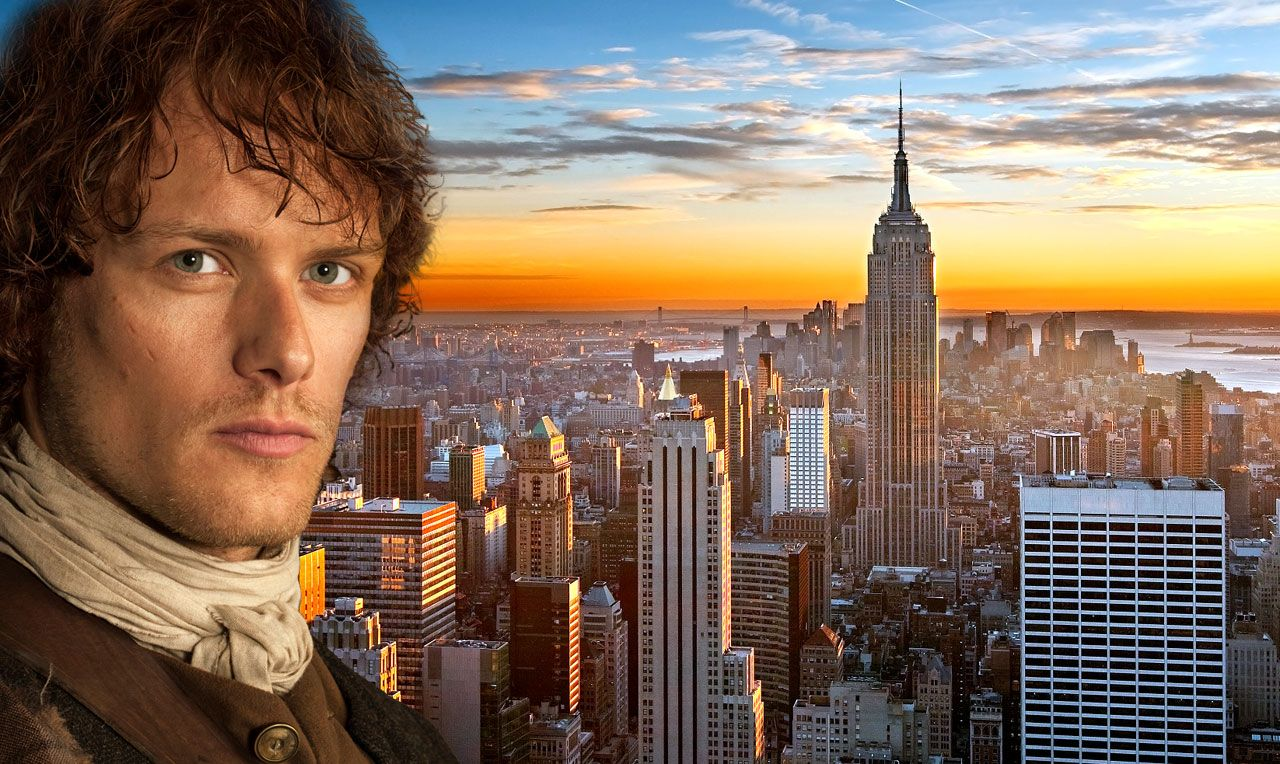 """Fun Facts About Sam Heughan - Grand Marshall of the 2016 NY Tartan Day Parade - ScotsUSA  - Scottish actor, Sam Heughan, who plays Jamie Fraser in """"Outlander"""", has been announced as the Grand Marshall of the NY Tartan Day Parade"""