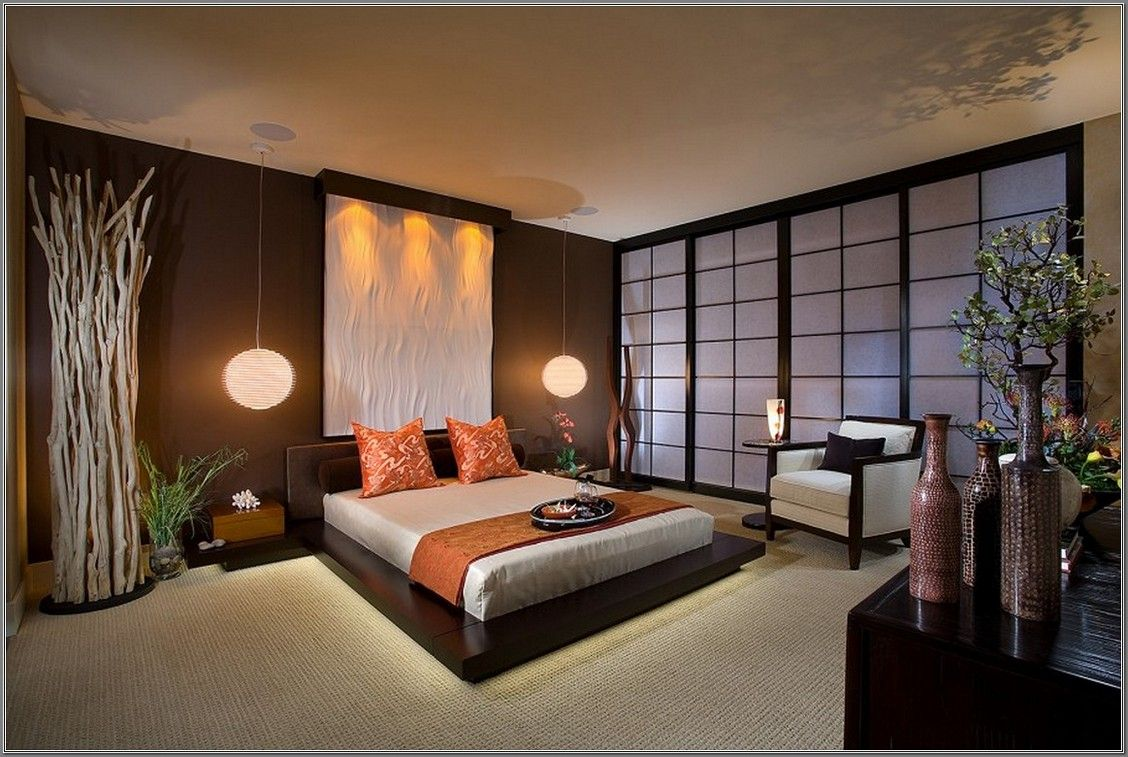 Japanese Bedroom Interior Design