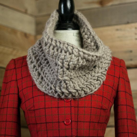 Loom Knit Chunky Lace Infinity Scarf Cowl Pattern Loom Knit Lace