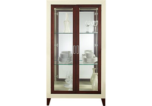Sofia Vergara Savona Ivory Curio X X Find Affordable China Cabinets For  Your Home That Will Complement The Rest Of Your Furniture.