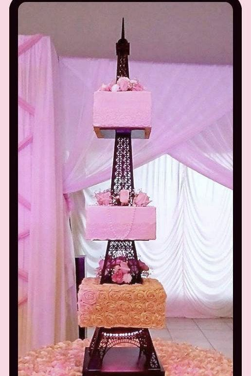 Prime Eiffel Tower Cake Stand With Images Eiffel Tower Cake Personalised Birthday Cards Beptaeletsinfo