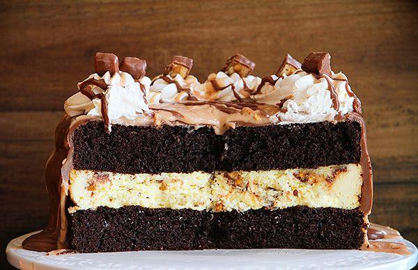 Food Network Pretzel Spiders Reeseu0027s Caramel Cake Recipe