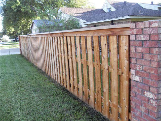Capped Privacy Fence Dream Home Ideas Backyard Fences