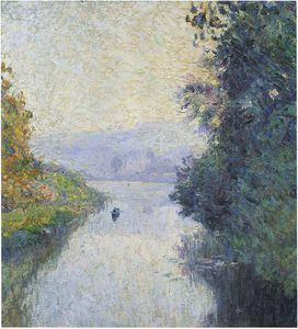 By the Marne - (Henri Lebasque)