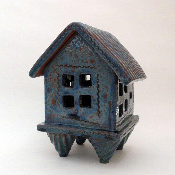 Prayer House / Spirit House incense burner by Mudgoddess