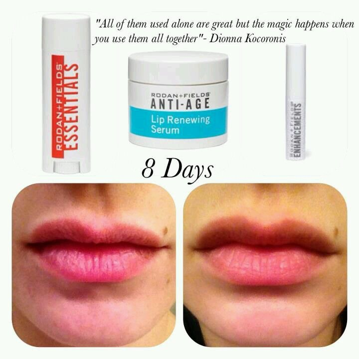 A lip lift/plumper/makeover in three easy steps! Amazing results from amazing products!