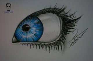 درس رسم العين بالرصاص والالوان الخشبية للمبتدئين خطوة بخطوة Http Ift Tt 2tvmodc تعلم الرسم بألوان خشب دورة الرسم بالألوان ا Colorful Drawings Eye Drawing Art