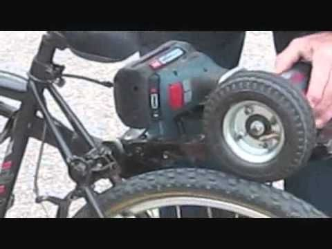 Bike Power Assist Cordless Drill Powered Bicycle Electric Bike Diy Electric Bicycle