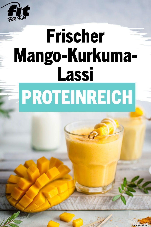 Mango-Kurkuma-Lassi Rezept - FIT FOR FUN