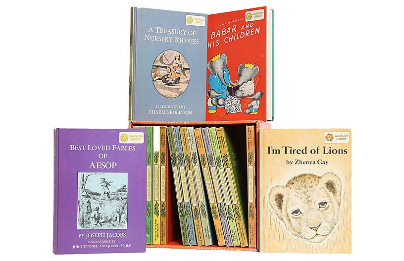 Dandelion Library Children's Books - Set of 18 - Booth