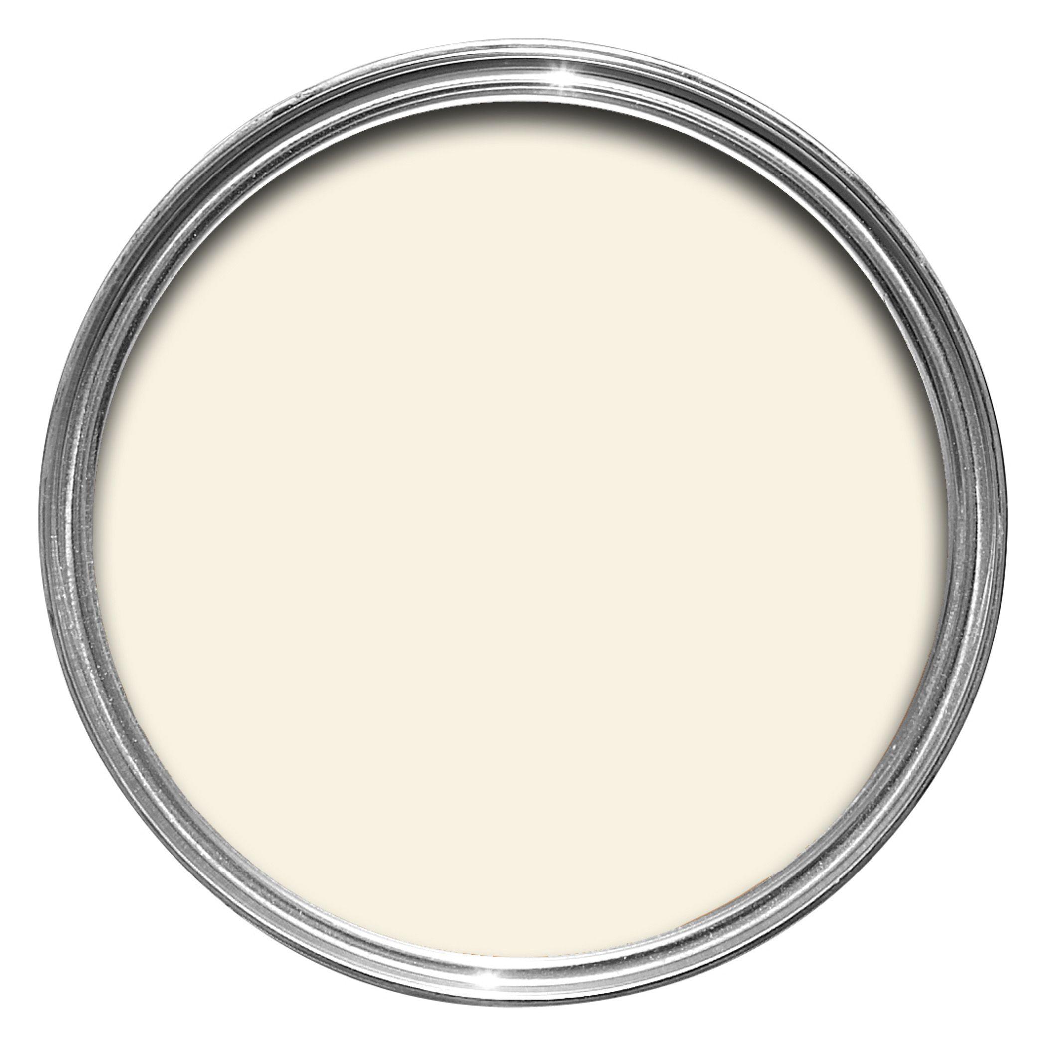 colours standard antique white silk emulsion paint 2 5l