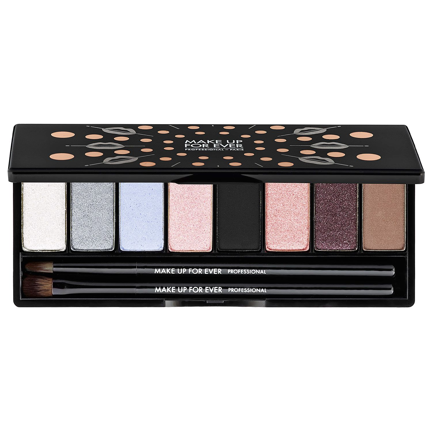 New at Sephora MAKE UP FOR EVER Midnight Glow Palette.