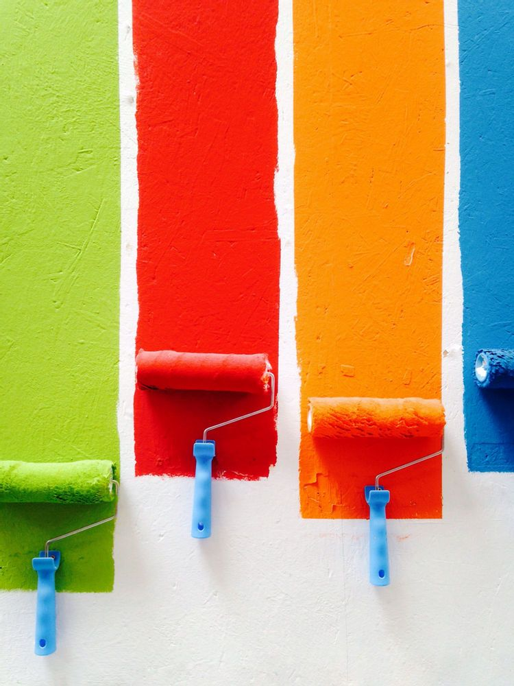 How Paint Colors Change The Feeling Of A Room In 2021 Paint Roller Pictures To Paint House Painter