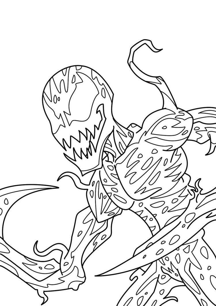 Download Or Print This Amazing Coloring Page Carnage Coloring