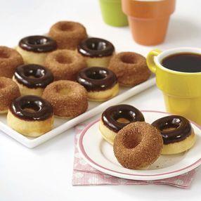 Baked Mini Cake Doughnut