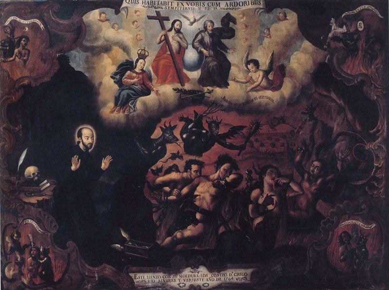 Arte Religioso Esta obra no es intelectualmente desafiante ya que al ser arte religioso tradicional, busca representar concepciones religiosas bien conocidas.