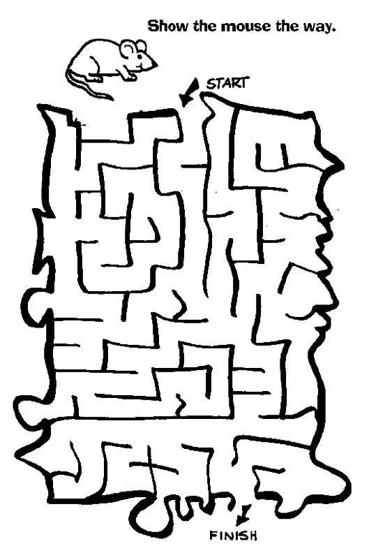 Free Printable Mazes for Kids at AllKidsNetwork.com | mazes ...