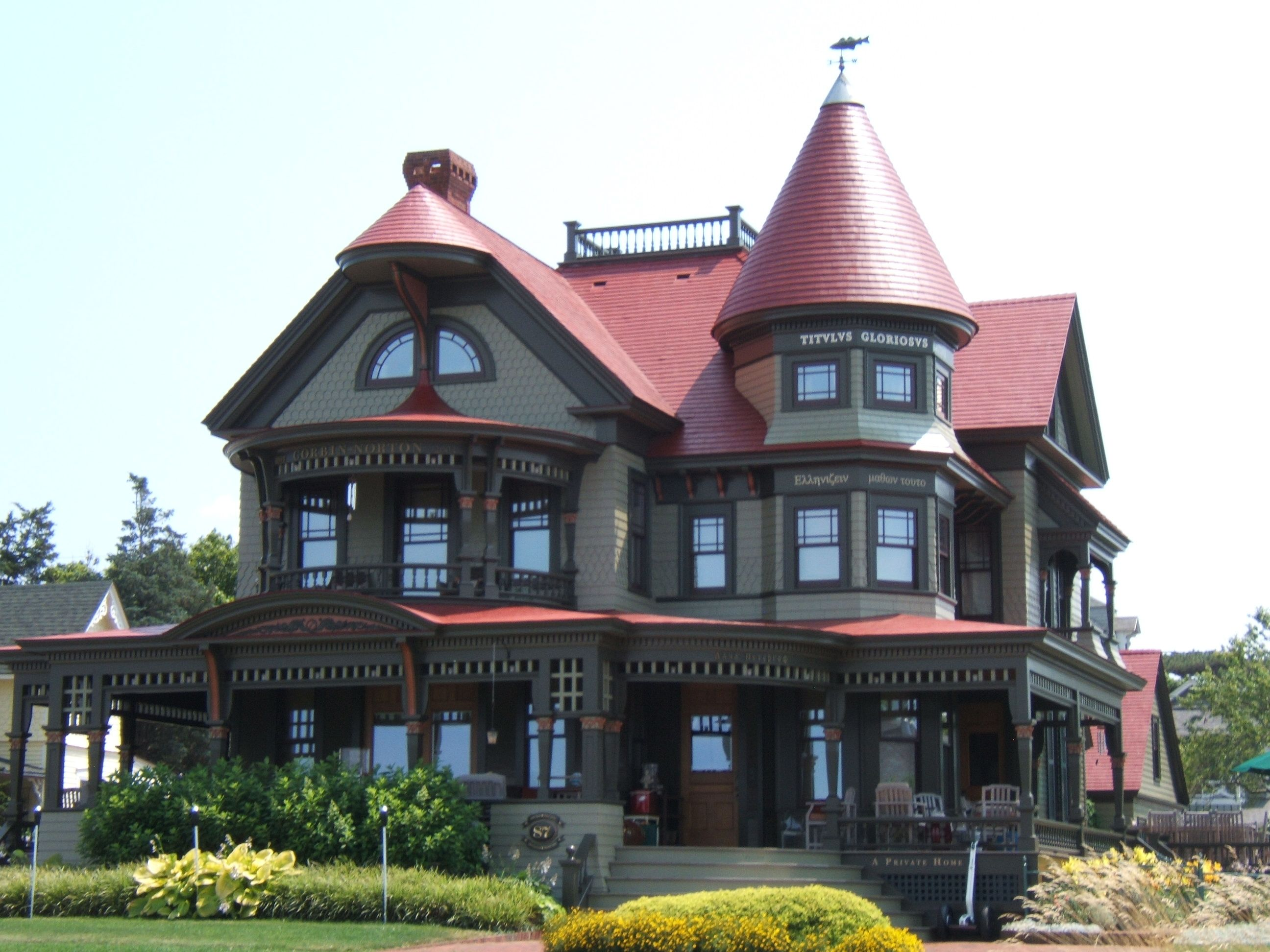 Victorian homes style beautiful turret and large covered - Types of victorian homes ...