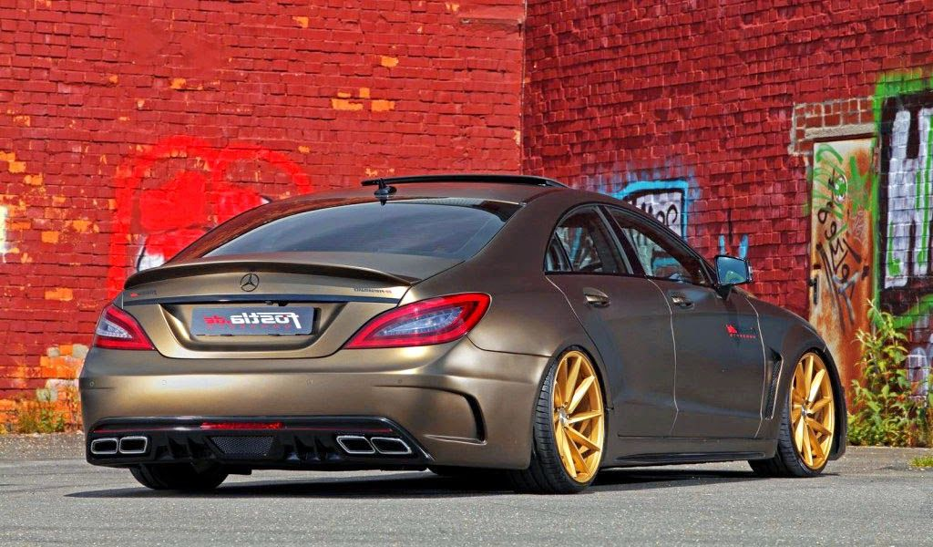 Modified Mercedes Benz Cls 350 Cdi With Images Mercedes Cls