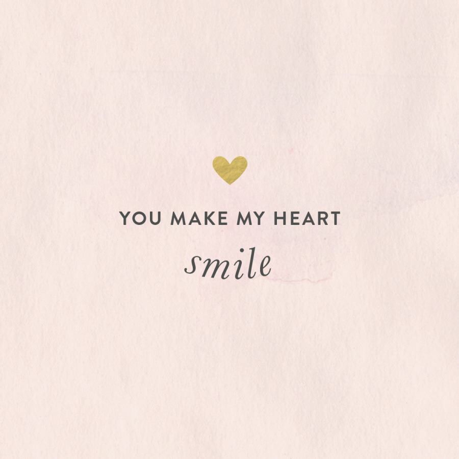 You make my heart smile | love ❤ quotes | Love smile quotes ...