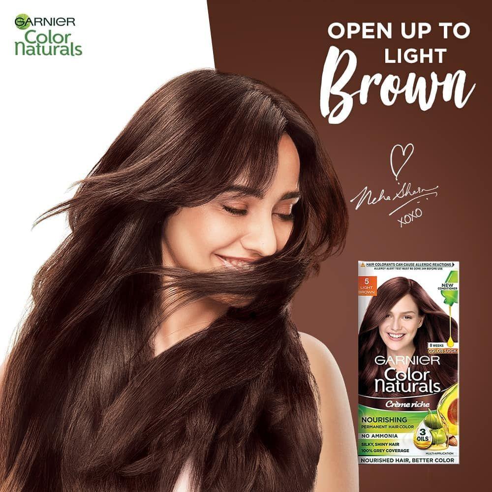Garnier Olia Brilliant Color 6 3 Fl Oz 6 0 Light Brown In 2020 How To Dye Hair At Home Permanent Hair Color Garnier Olia