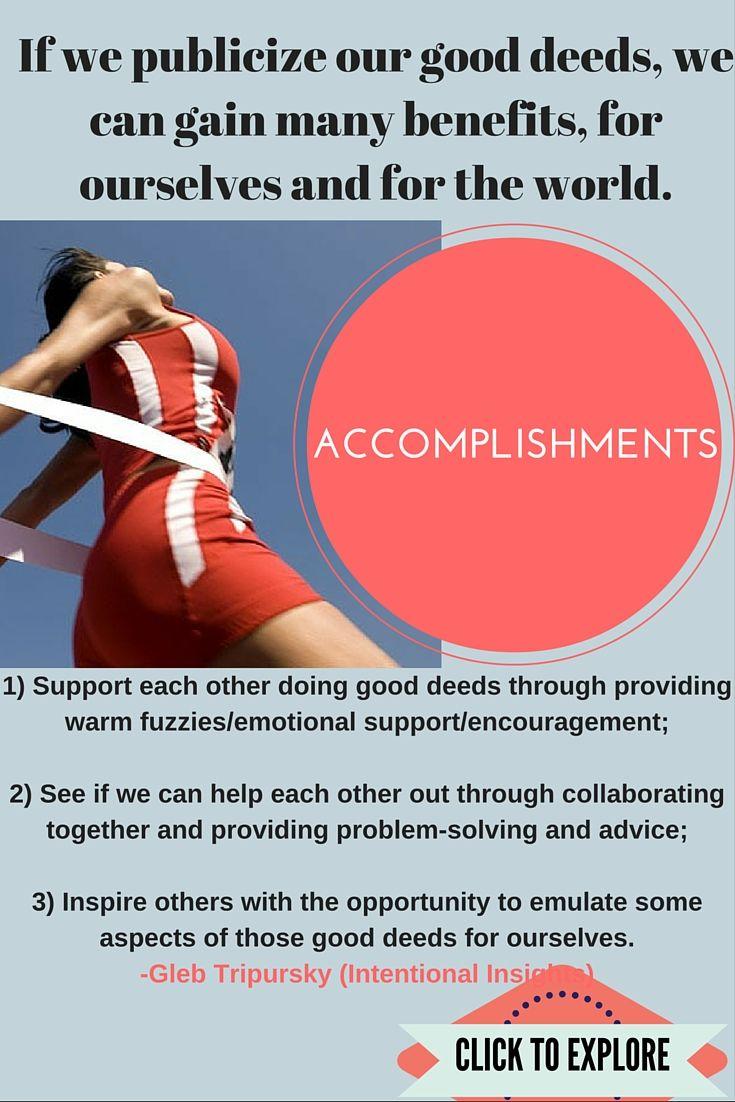 Accomplishment..