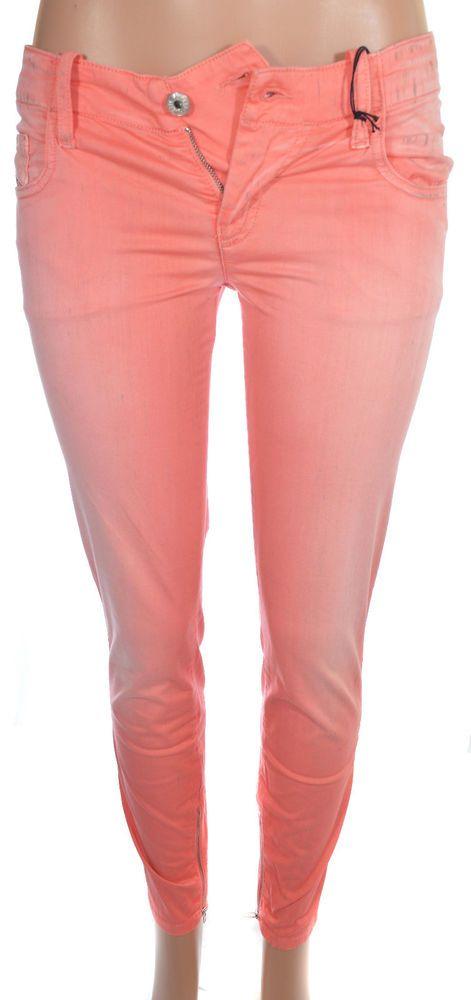 ee1e0d21 Diesel Womens Super Skinny Jean Size 29 Grupee Zippered Ankle Trousers NWT  $248 #DIESEL #SlimSkinny